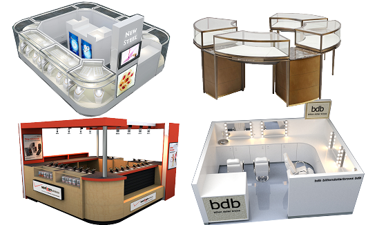 Mall Kiosks | Food Kiosks |Custom Retail Kiosks - mykioskey