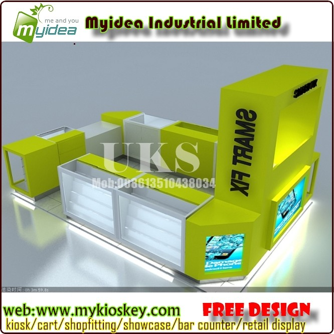 Ice Cream Kiosk Design Mall