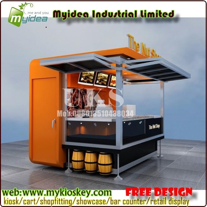 Outdoor food kiosk fast food kiosk design for sale for Garden kiosk designs