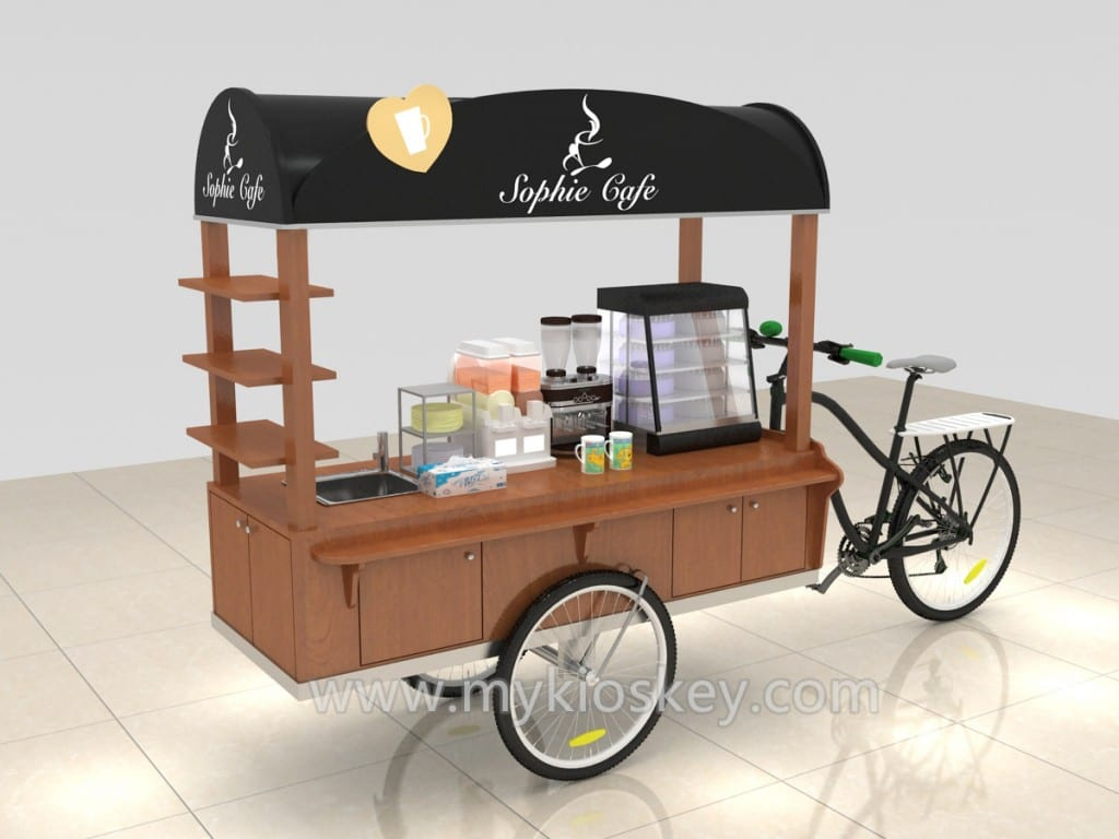 high quality beautiful food cart design for outdoor. Black Bedroom Furniture Sets. Home Design Ideas