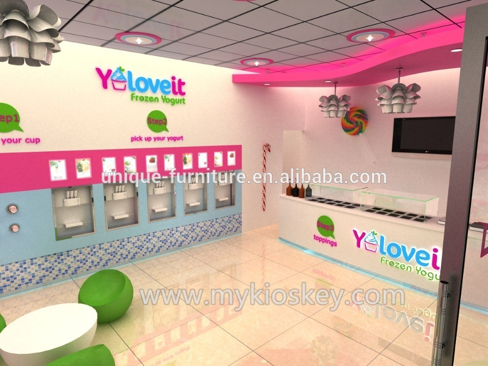 candy store furniture customized with 3d design mall kiosks food kiosks custom retail. Black Bedroom Furniture Sets. Home Design Ideas