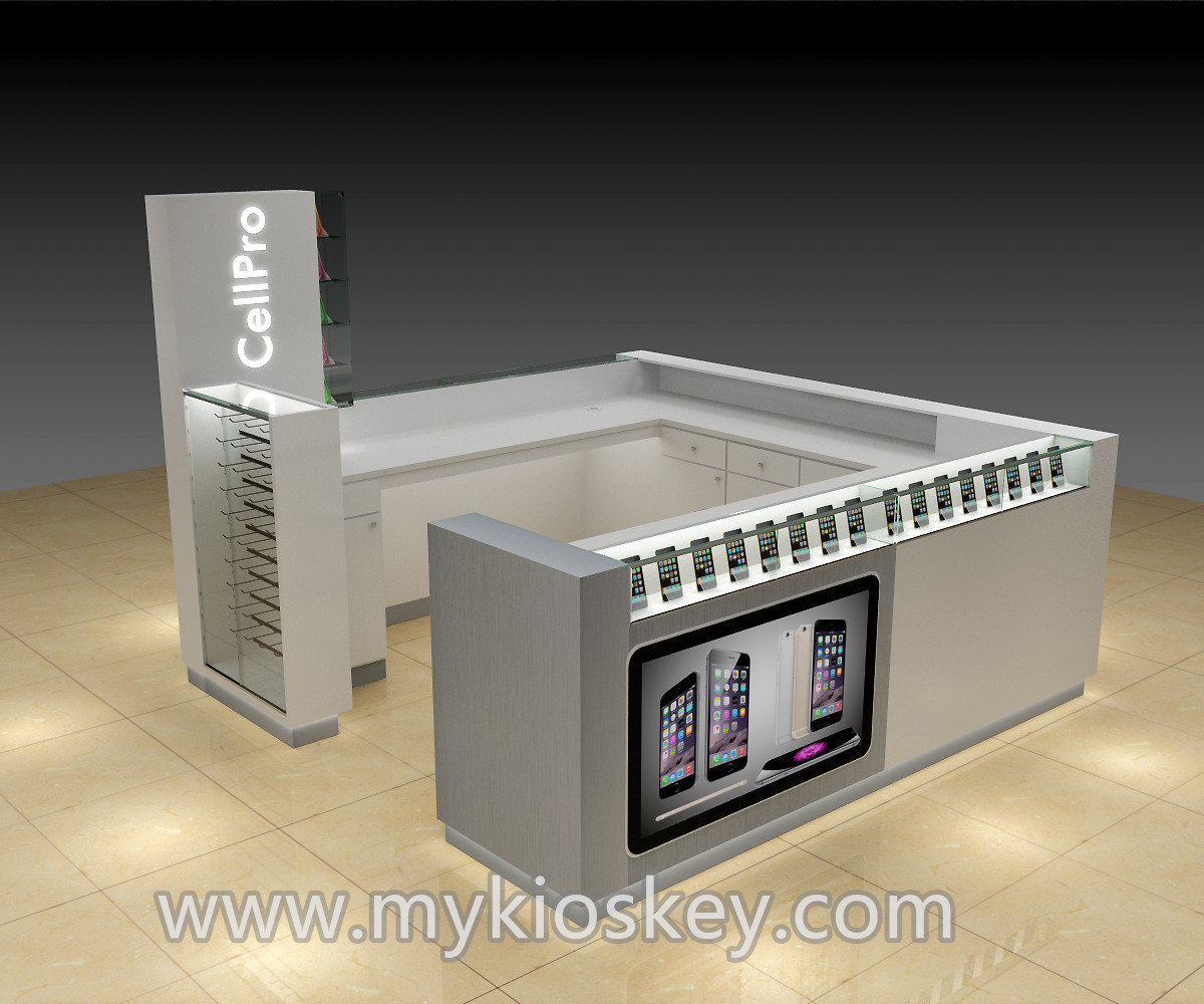 Mobile Display Cabinet Mobile Phone Display Cabinet With Glass For Sale Mall Kiosks