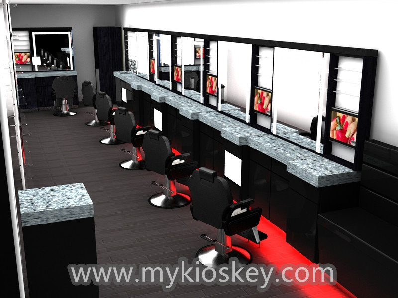 Hair Salon Furniture Design In Mall For Sale Mall Kiosks Food - Hair salon furniture
