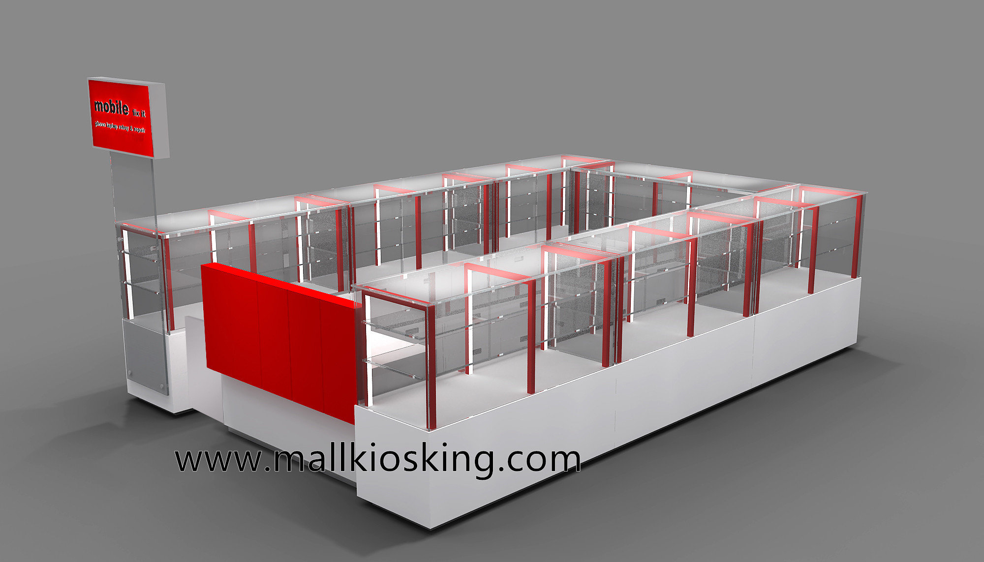 Mall retail electronic products mobile phone kiosk for sale for Mobili kios