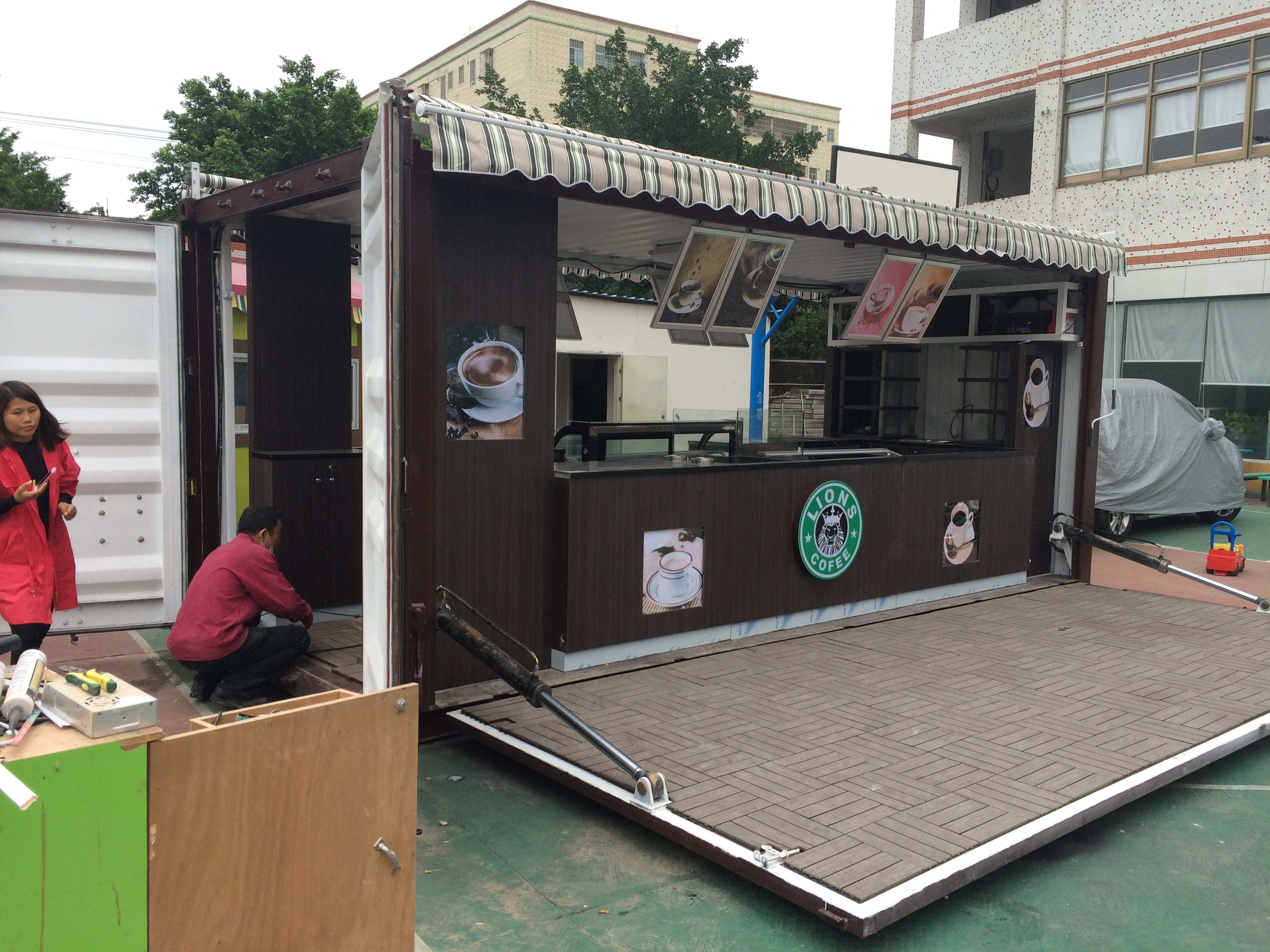 Modular Containers Mall Kiosks Food Kiosks Custom