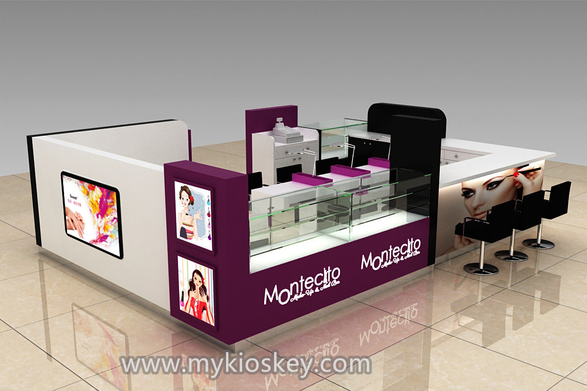 Lasted Self Frozen Yogurt Shop Furniture Design With CE Approved