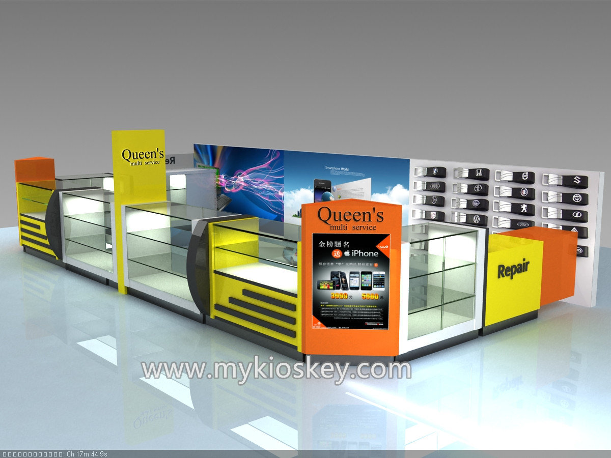 Free mall mobile phone kiosk design for cellphone for Mobili kios