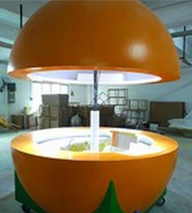 Outdoor Fiberglass Fresh Fruit Juice Bar Orange Juice