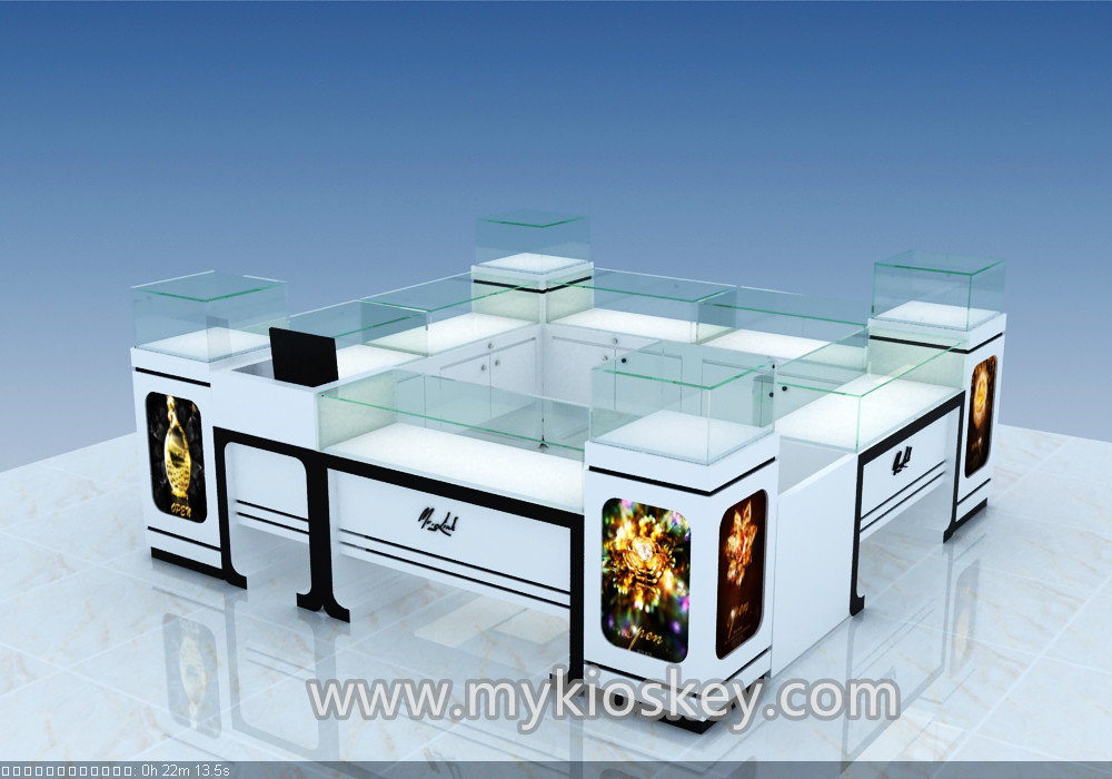 Below is production picture for Custom Design Fashion Retail fruit juice  kiosk for your reference.