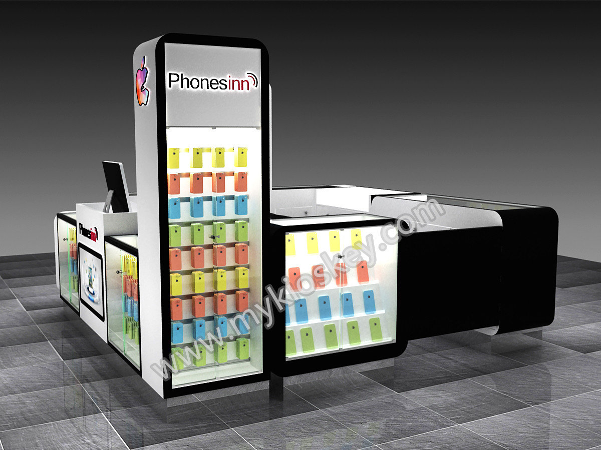 Modern10ft By 10ft Cell Phone Accessory Kiosk