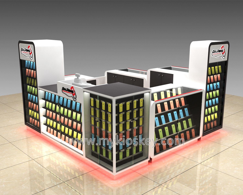 Dr ring smart mobile phone kiosk design in super mall for Mobili kios
