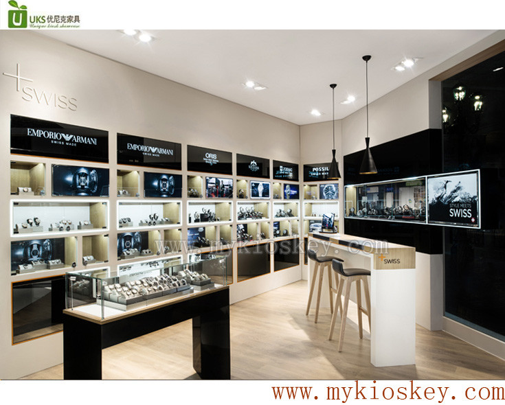 high end jewelry display kiosk for jewelry store used