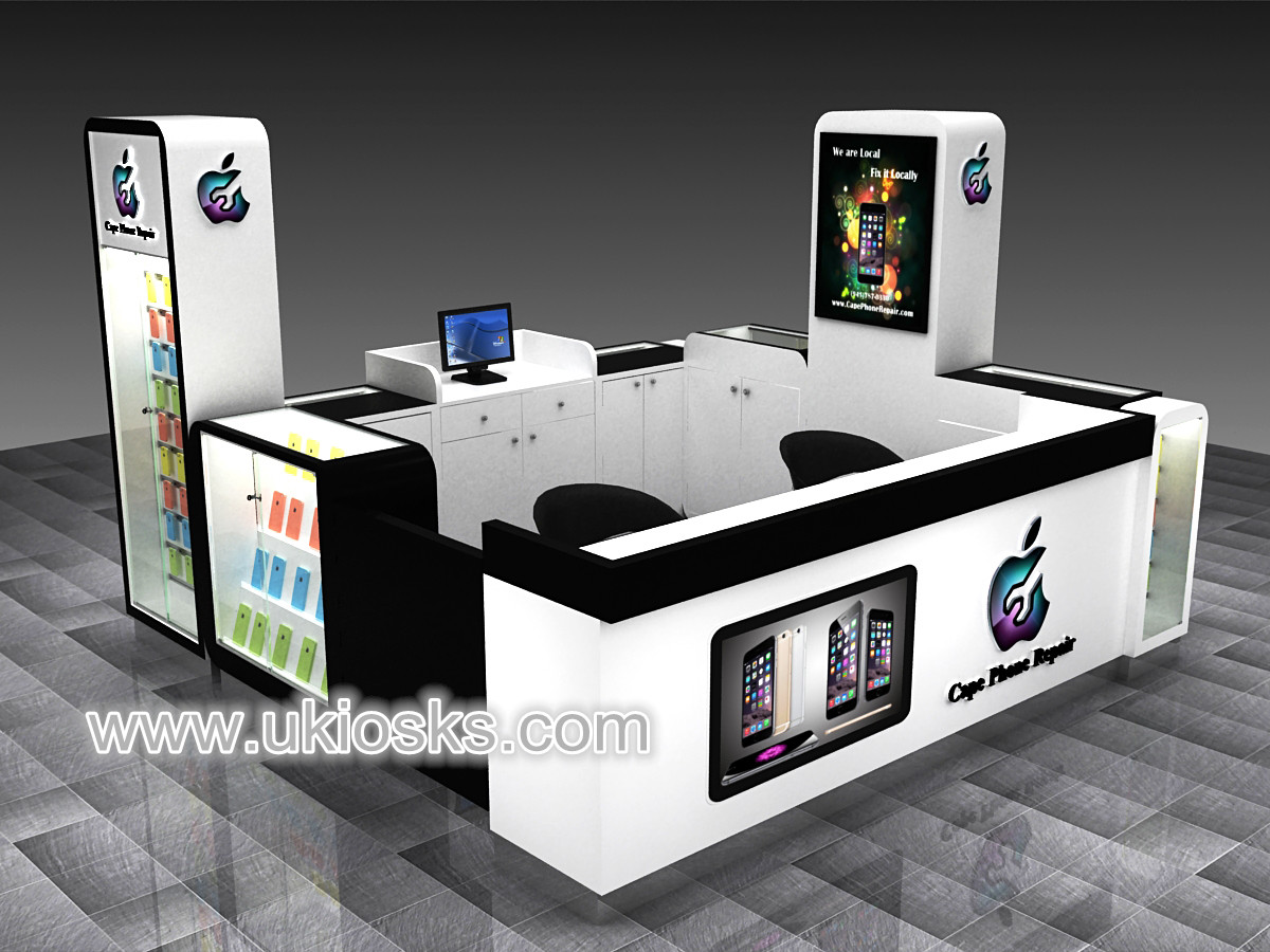 Custom mobile phone retail store cell phone accessories for Mobili kios