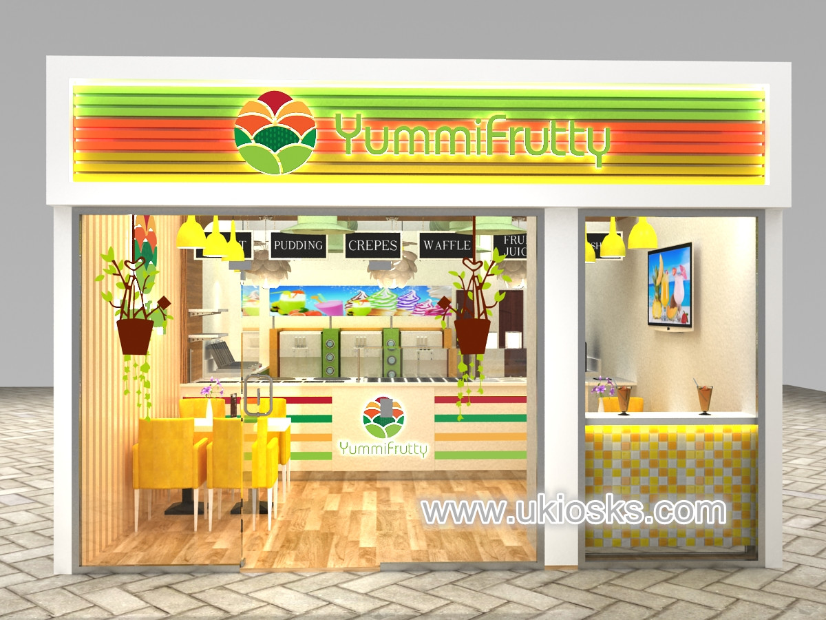 yougurt shop furniture