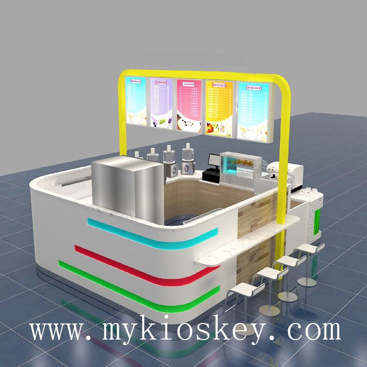 roll ice cream kiosk