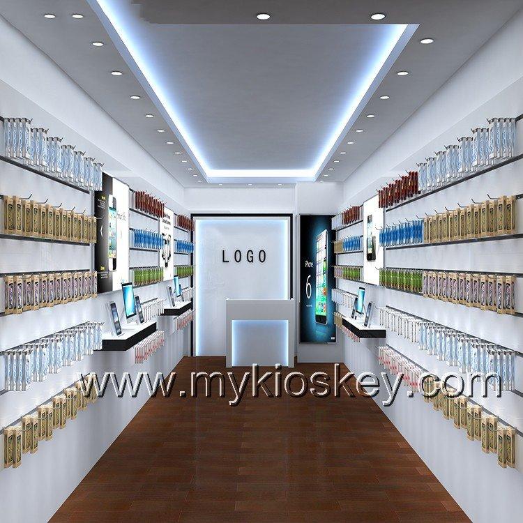 Retail phone accessories cellphone store furniture interior design mall kiosks food kiosks - Mobile shop interior design ideas ...