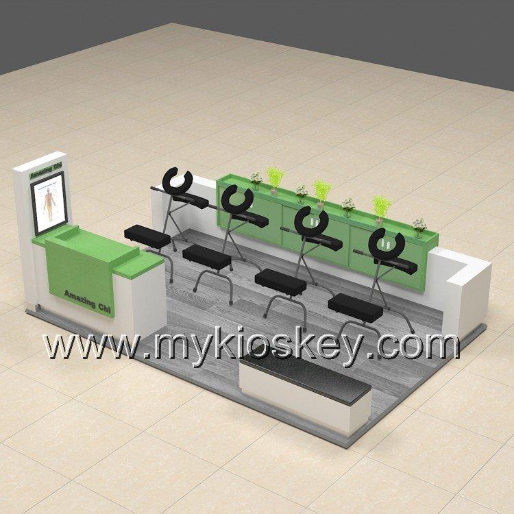 skin care kiosk