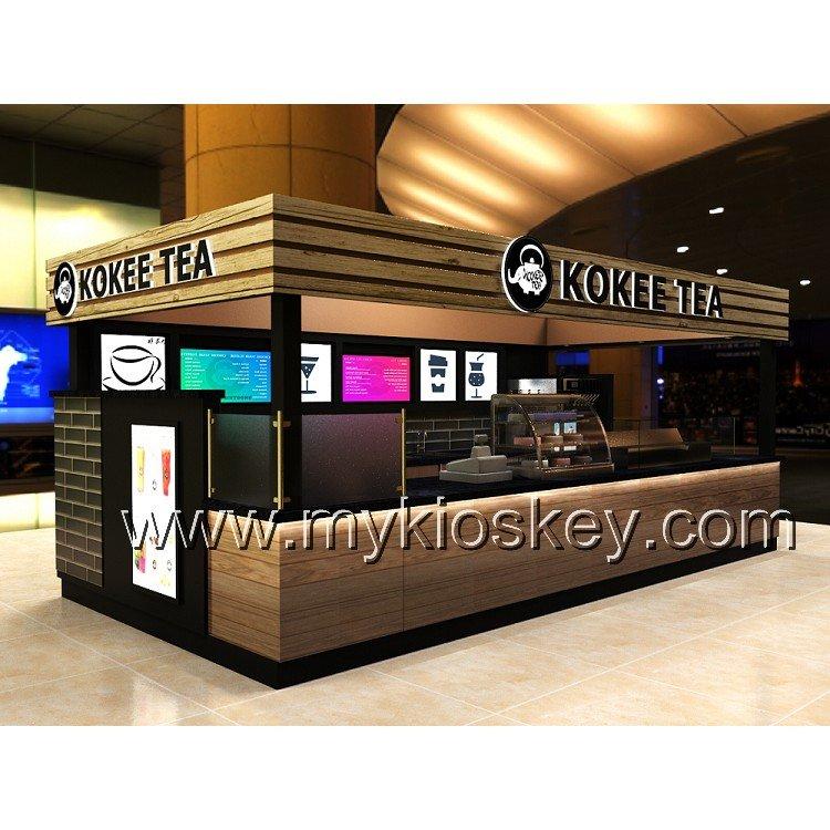 starbuck coffee kiosk