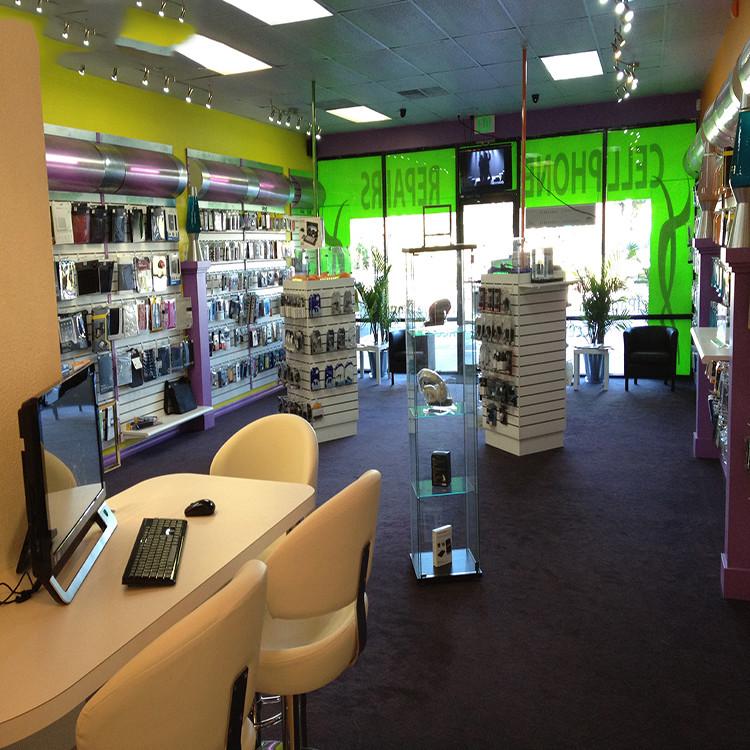 Mobile Phone Shop Furniture Design Custom mobile phone st...