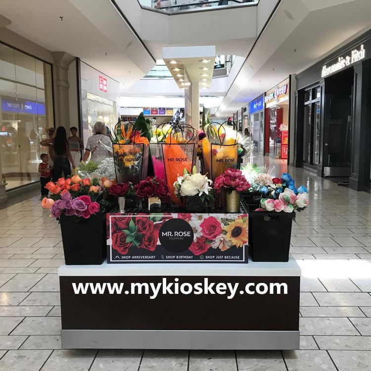 wedding fresh flowers store the flower booth design mall kiosk food kiosk retail carts shop. Black Bedroom Furniture Sets. Home Design Ideas