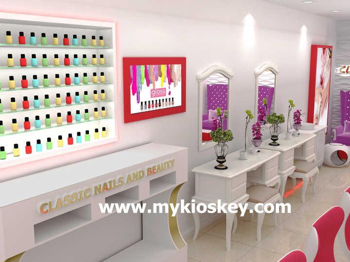 nail shop interior design