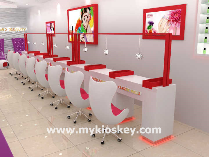 modern beauty nail shop interior design nail salon furniture
