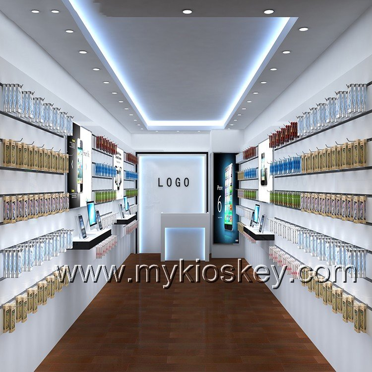 phone shop interior decoration design