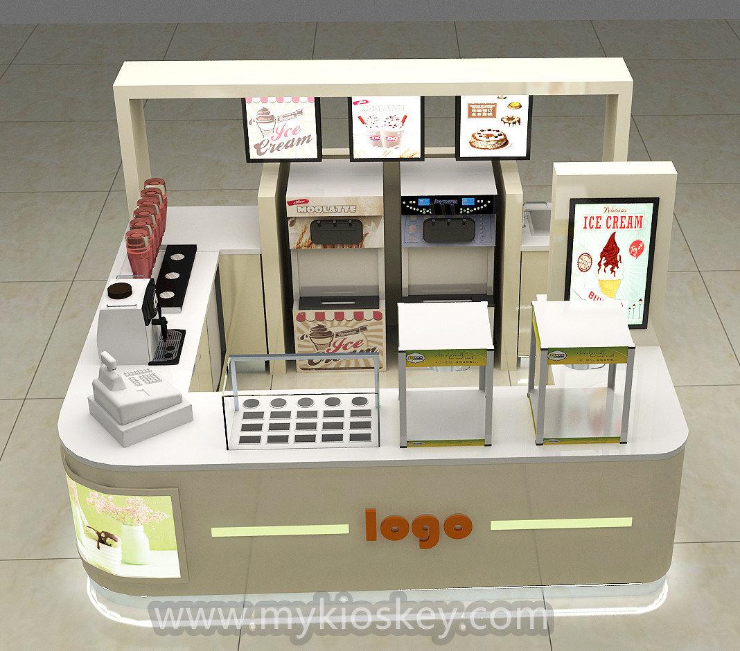 12 12ft Frozen Yogurt Kiosk Juice Bar Counter Juice Bar