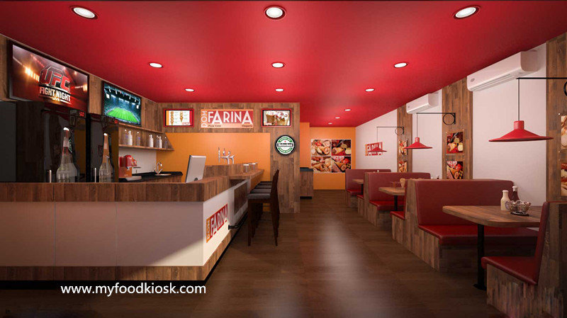fast food restaurant design