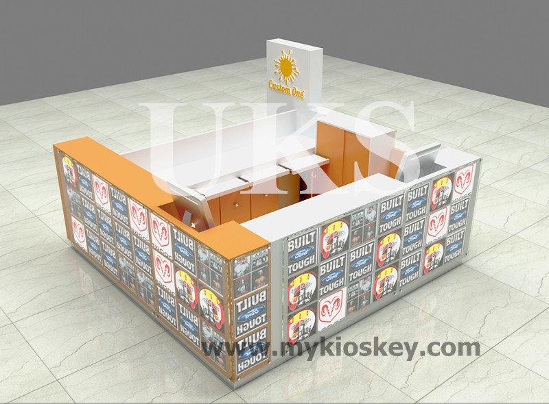 10x10 Ft 3d T Shirt Printing Kiosk For Shopping Mall
