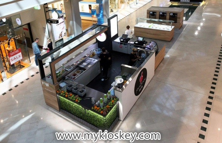 mall juice bar kiosk for sale