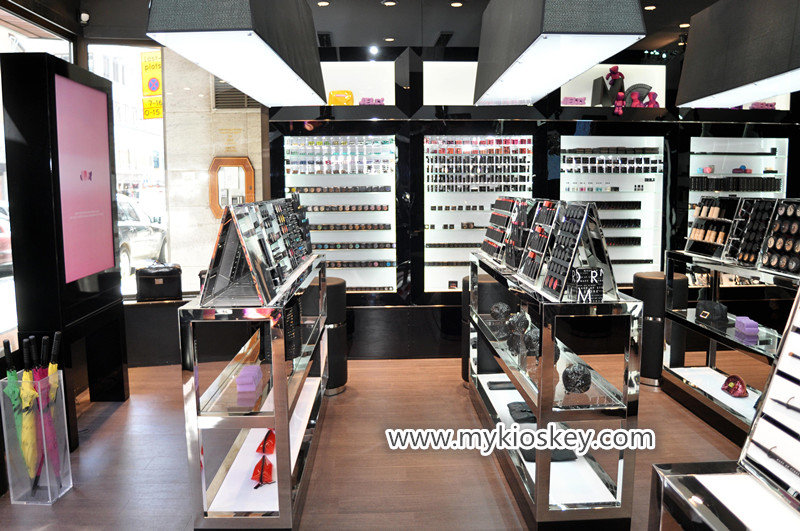 High quality cosmetic display make up store for USA