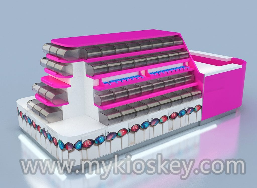 customized candy kiosk