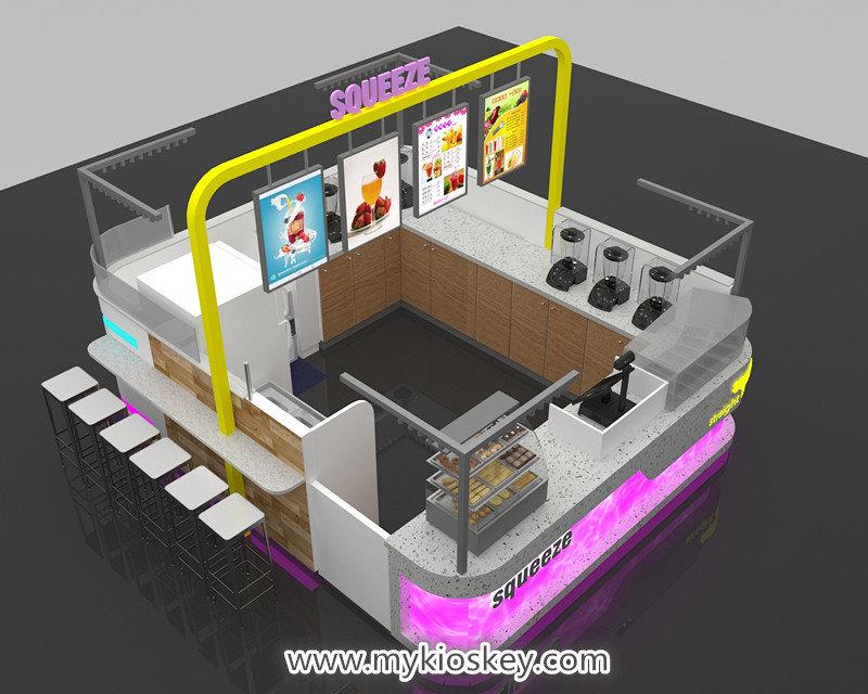 fruit juice bar kiosk