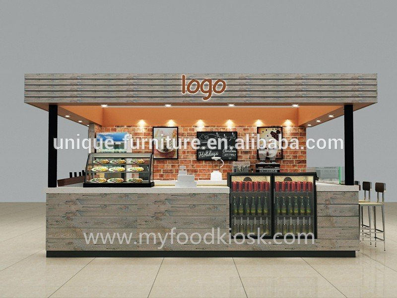 On the back with big light logo looks very attractive arround with roof have many spotlights - Classic bar counter design ...