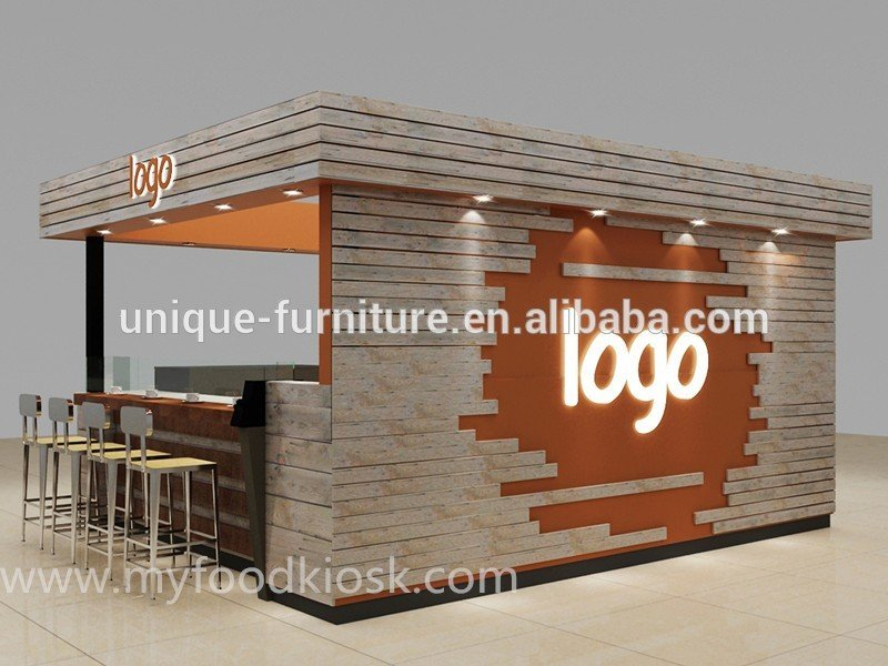 Contact us if you have any question or issues about the coffee bar counter or coffee kiosk - Classic bar counter design ...
