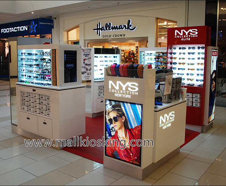 sunglass display booth