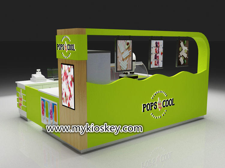 popsicle display kiosk