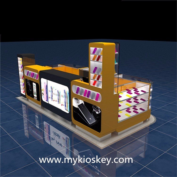mobile phone display kiosk