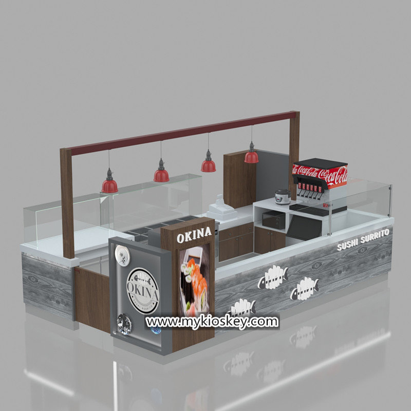 Most Popular Indoor Retail Food Coffee Kiosk For Sale