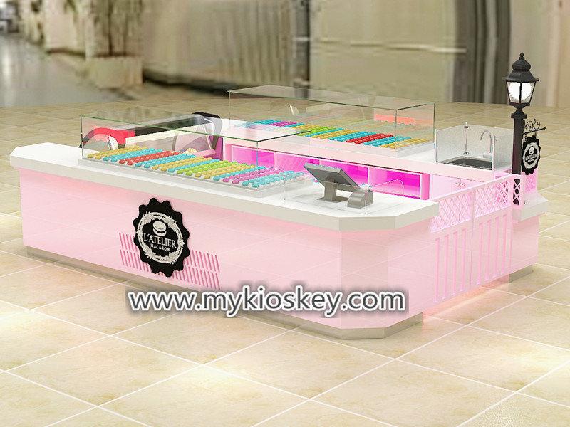 Mall pastry kiosk