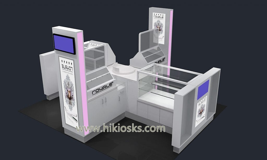 hair salon kiosk