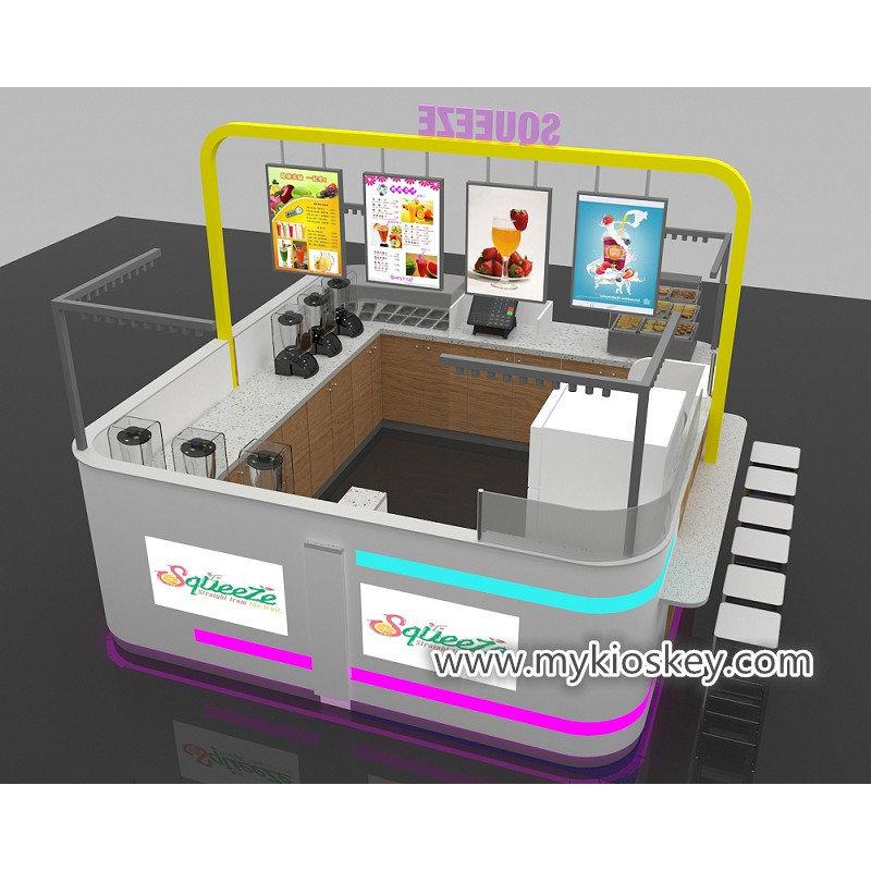 smoothie tea kiosk