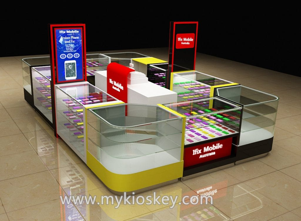 phone display kiosk