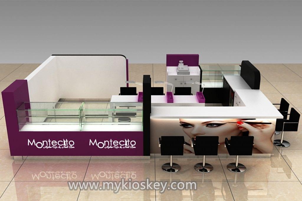 Nail Manicure Kiosk