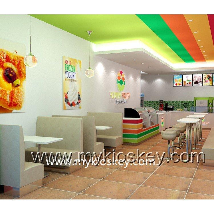 fresh juice shop fixtures display