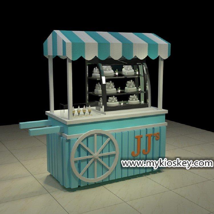 roll ice ream kiosk