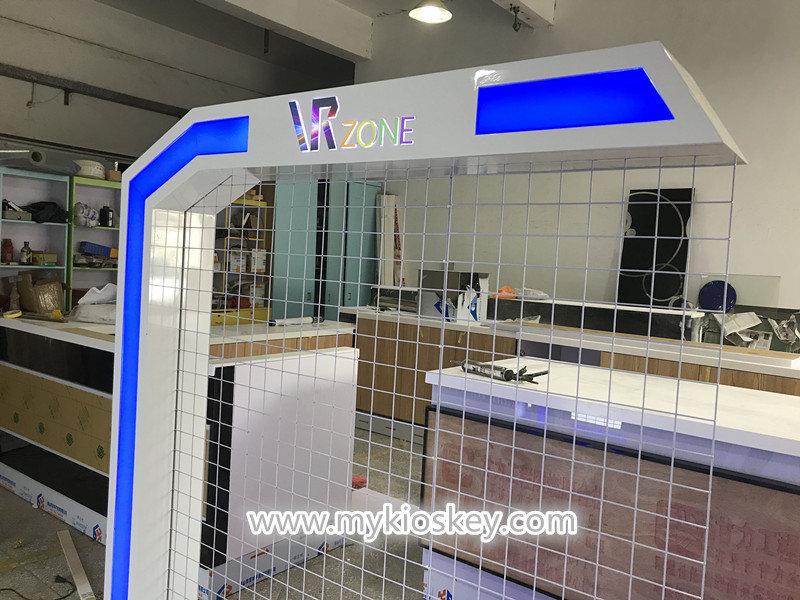VR experience kiosk