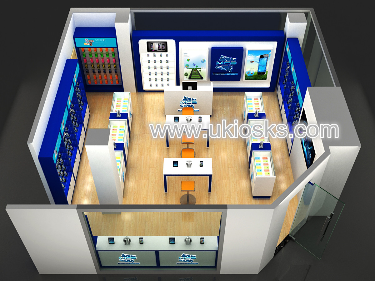 New Design Cell Phone Shop Furniture /accessories Retail