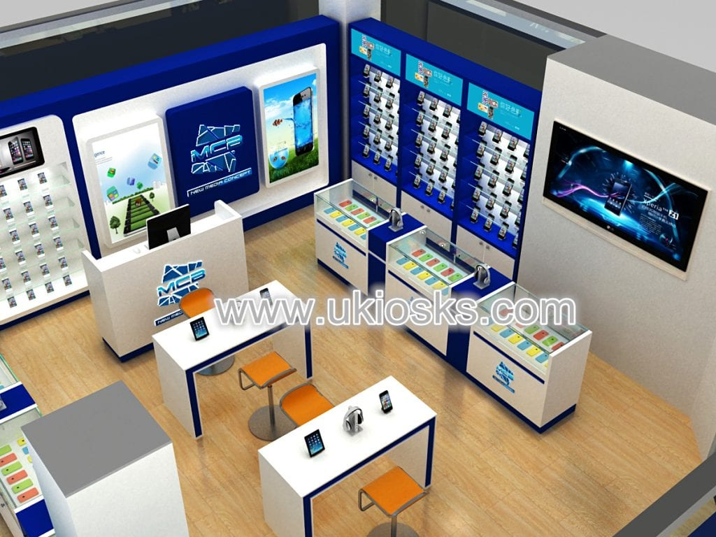 New design cell phone shop furniture accessories retail for Mobile furniture design